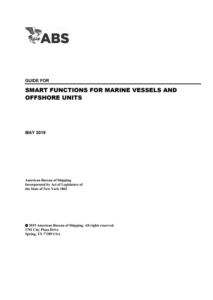 ABS publishes first notations on smart technology for marine and