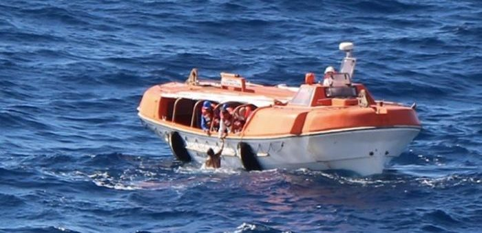 Carnival cruise ship crew rescues man after falling overboard