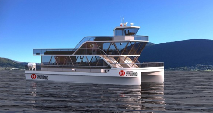 Electric catamarans introduced for Polar water exploration