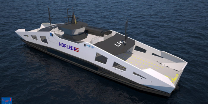 Progress made for the construction of world's first hydrogen ferry