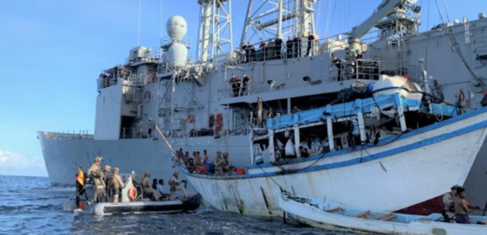 How EU NAVFOR handled 2019's first piracy attack off Somalia