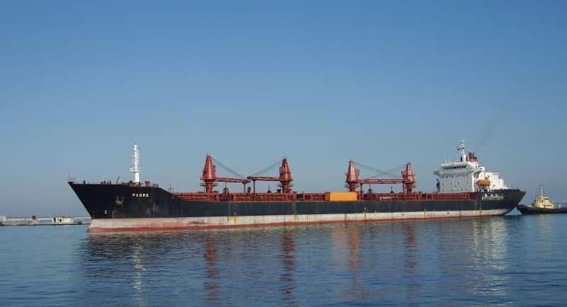 Padre bulk carrier detention: Crew not scared to speak about their safety