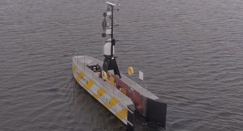 First unmanned vessel set to cross Atlantic without crew
