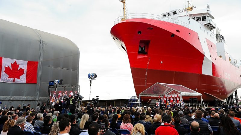 Canada Launches Second Offshore Fisheries Science Vessel Safety4sea