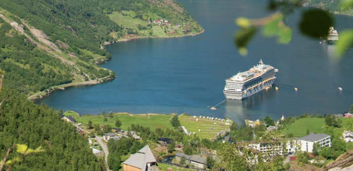 Carnival to help achieve 40% reduction of cruise industry's emissions by 2030
