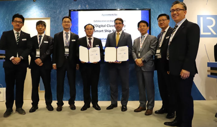 LR partners with HGS on digital solutions boosting shipping