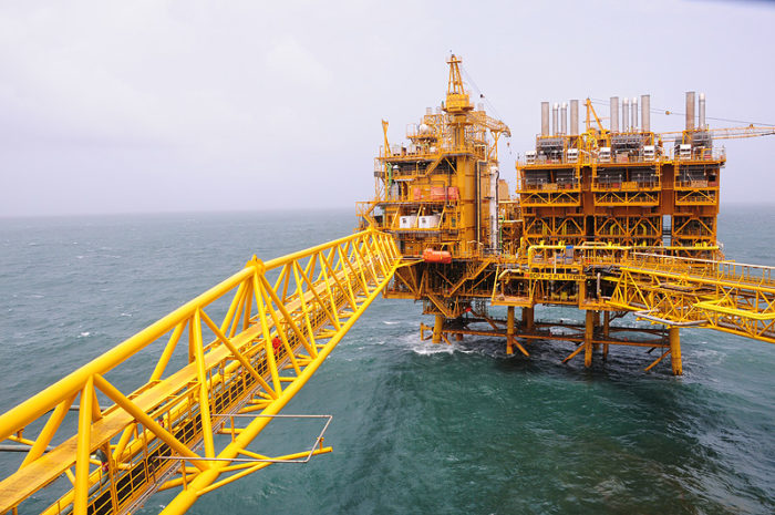 India's Oil and Natural Gas corp. moves a record 35-offshore drilling rigs