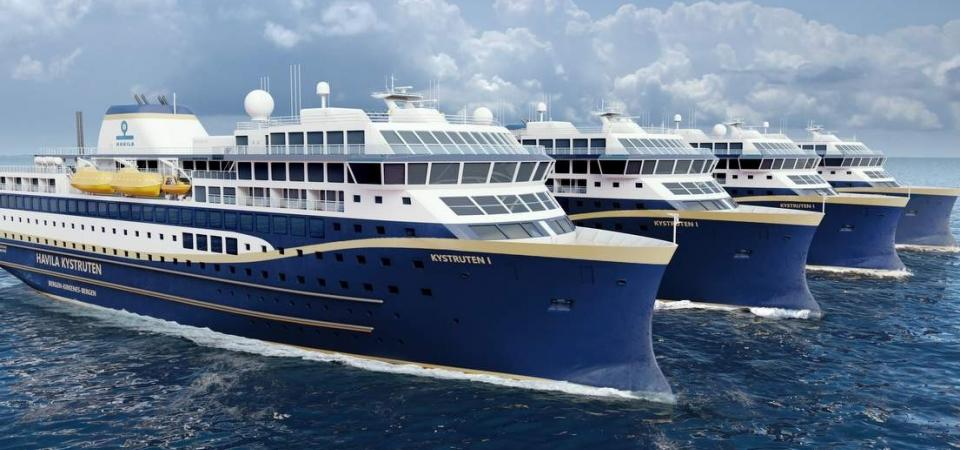 Two new green cruise ships to operate in Norway from 2021