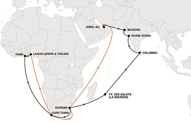Hapag Lloyd launches Indian Ocean-EU service line