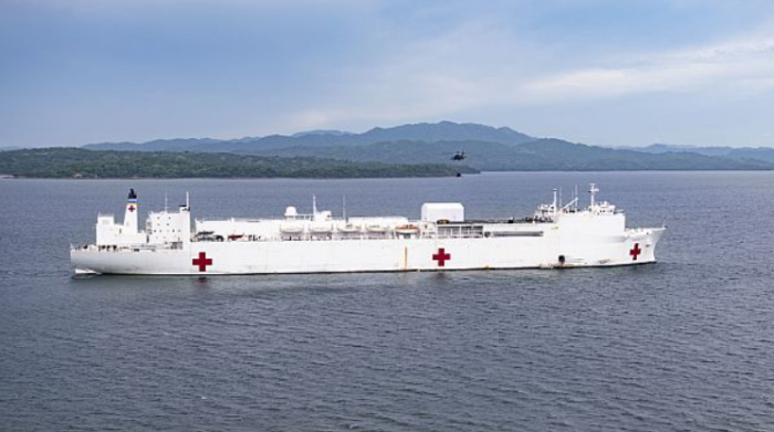 California requests USNS Mercy Hospital Ship against COVID-19 outbreak