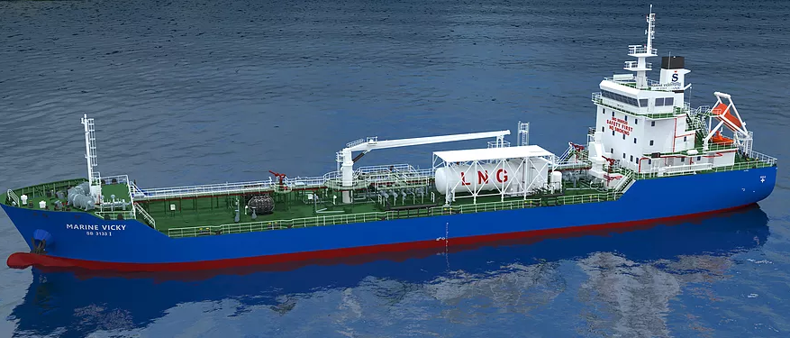 ExxonMobil hires Singapore's first LNG-powered tanker