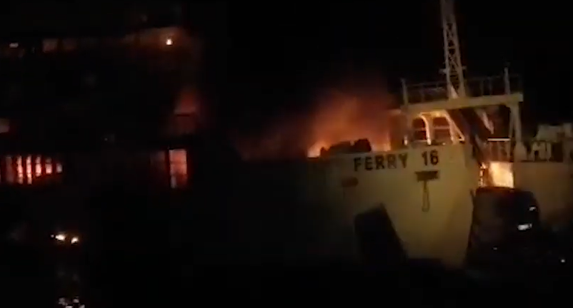 Four die, dozens missing after RoRo ship catches fire off Philippines