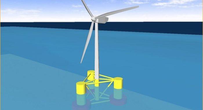 UK University trials methods to stabilise floating offshore wind turbines