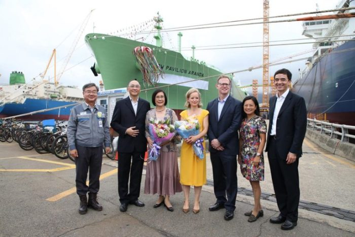 BW LNG conducts naming ceremony for two LNG carriers