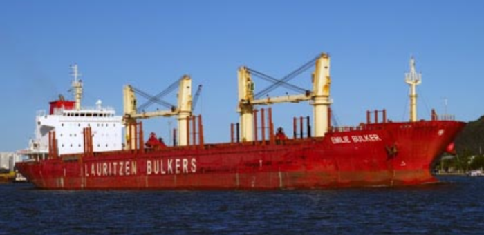 Captain, Chief Officer of bulk carrier fined for providing false information