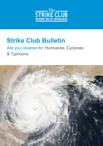Insurance cover regarding hurricanes, cyclones and typhoons