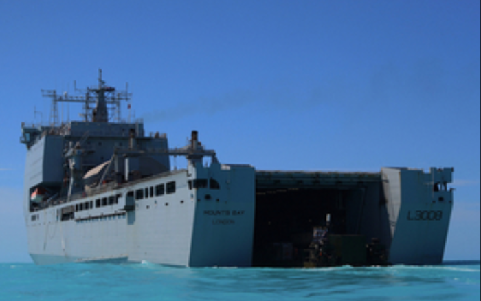Royal Navy deploys additional medical military personnel to the Bahamas
