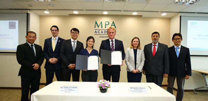 MPA Singapore and IMarEST to upskill maritime majors