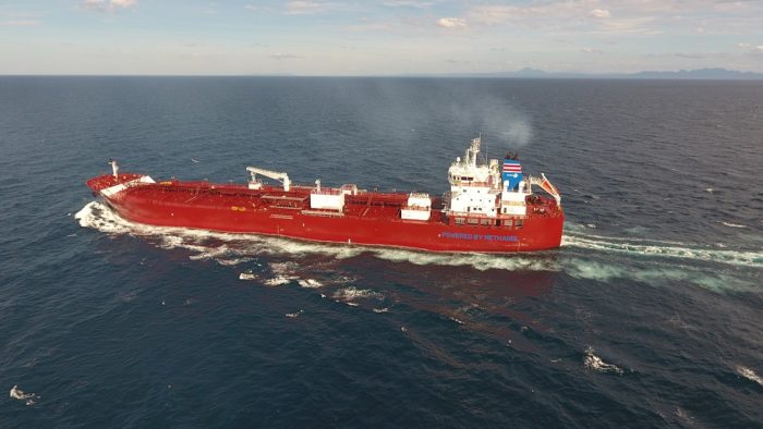 NYK delivers first methanol-fueled carrier