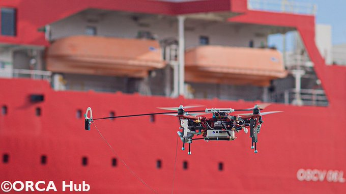 University alliance presents drones for offshore operations