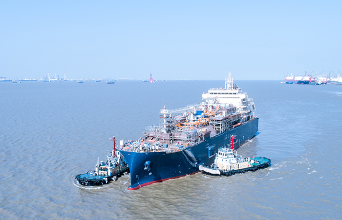 Total launches its first LNG bunker vessel