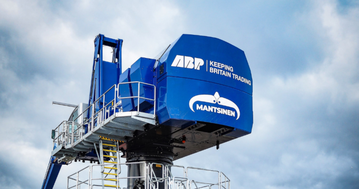 ABP invests in energy efficient crane for Port of Newport