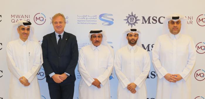 Mwani Qatar, MSC ink agreement for Hamad's port transhipments