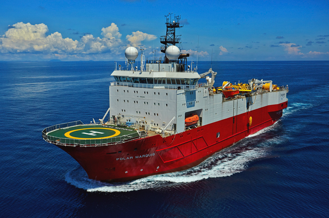 Fire takes place on seismic vessel's engine room off Senegal