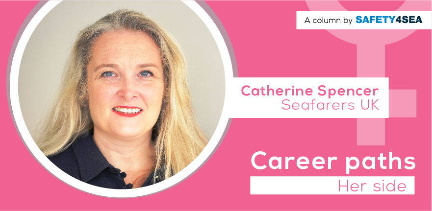 Career Paths: Catherine Spencer, Seafarers UK