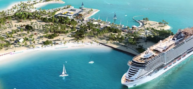 MSC welcomes the first guests of its private island