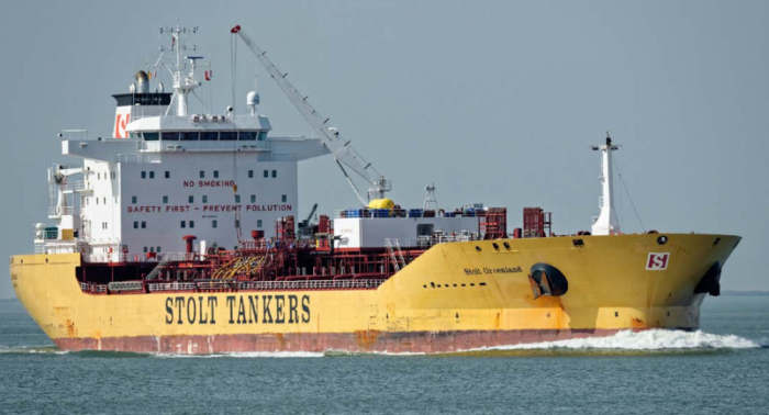 Rupture of the deck and ignition may have caused explosion on Stolt Groenland