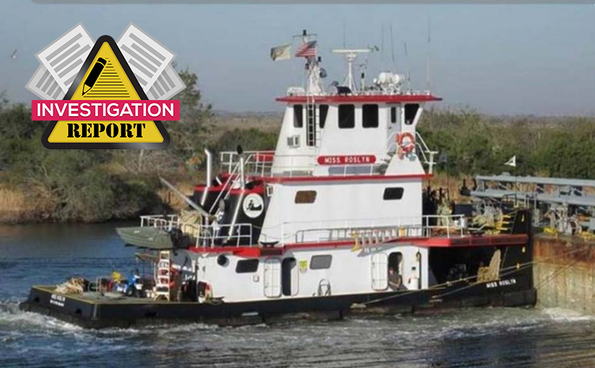 Miss Roslyn Investigation report: Ineffective hull inspection and maintenance leads to capsizing