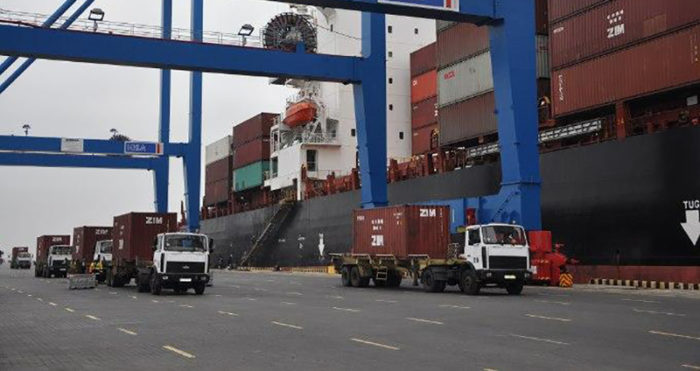 Ukrainian ports handled more than 1million TEU containers in 2019
