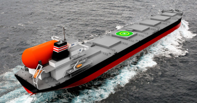 Agreement signed for operation of world's first LNG-fueled large coal carriers