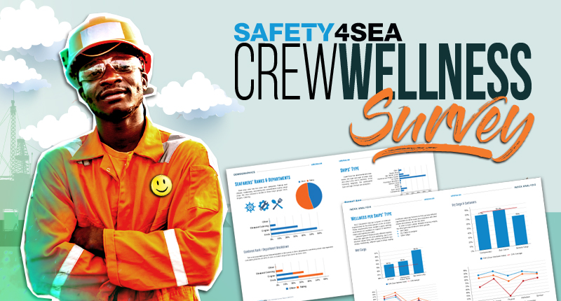 SAFETY4SEA Crew Wellness Survey: How happy are seafarers onboard?