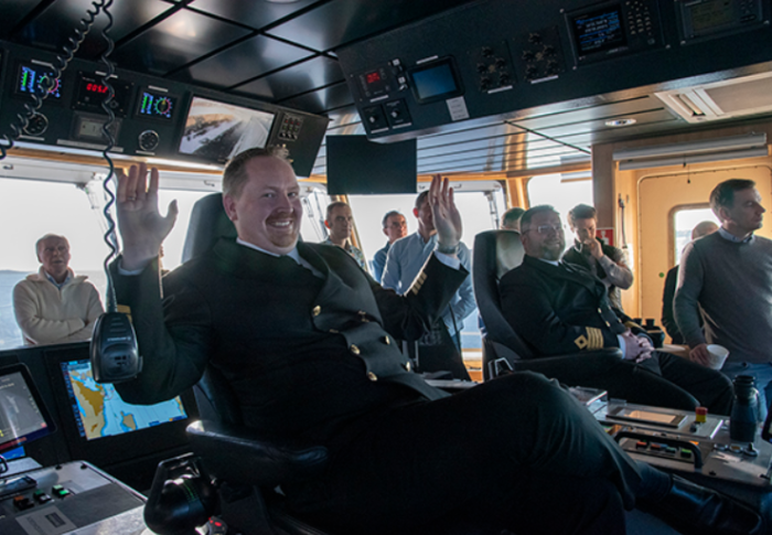 Norway's MF Bastø VI conducts first fully automatic journey