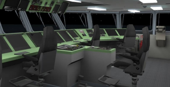 Dutch navy students accomplish virtual reality training