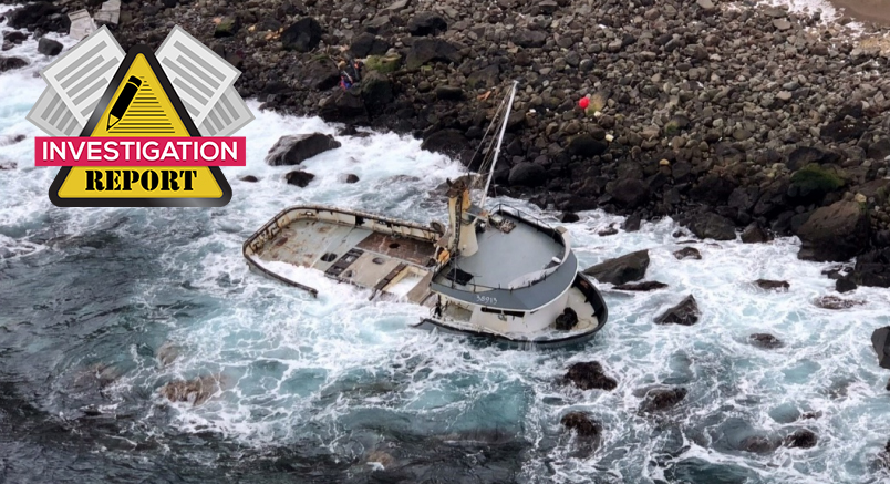 NTSB investigation: Fatigue leads to grounding in Alaska
