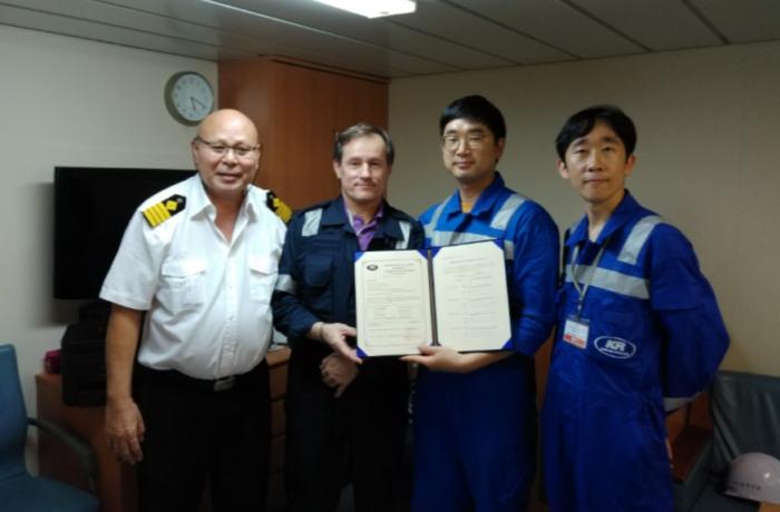 KR certifies first cybersecurity compliant vessel