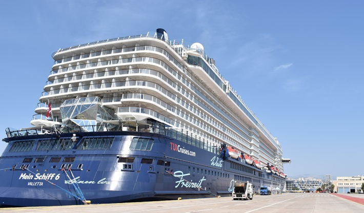Greece welcomes first cruise ship to restart operations amid COVID-19