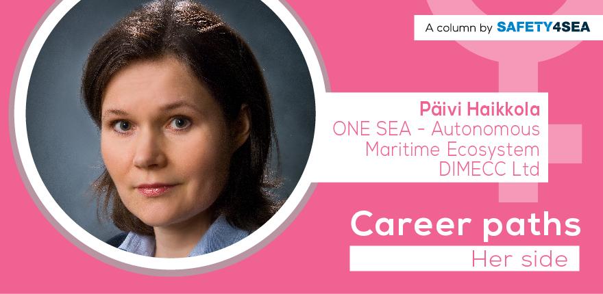 Career Paths: Paivi Haikkola, One Sea Ecosystem