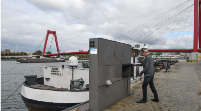 Major ports to establish single shore-based power system