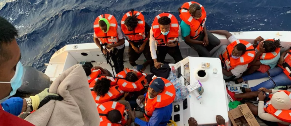 Carnival cruise vessel rescues 24 people from sinking boat