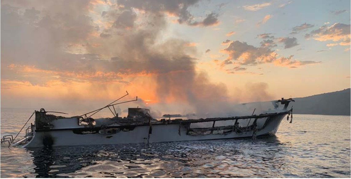 Poor oversight and regulatory requirements led to the fatal dive boat fire, NTSB says