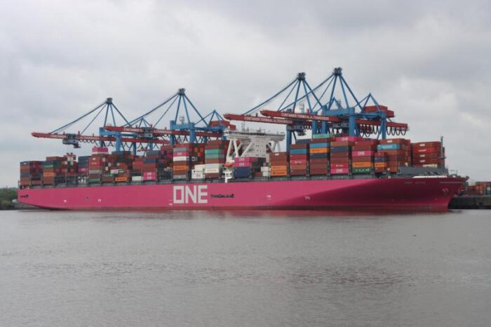 Removal of containers from ONE Apus likely to take several more weeks