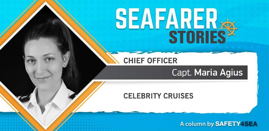 Seafarer Stories: Capt. Maria Agius, Chief Officer